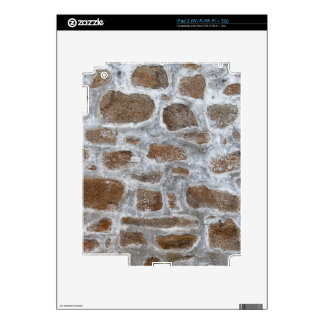 Old Stone Wall Background Skins For The iPad 2