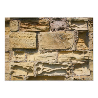 "Old Stone Wall Invitation 5"" X 7"" Invitation Card"
