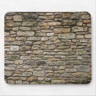 Old Stone wall Mouse Pad