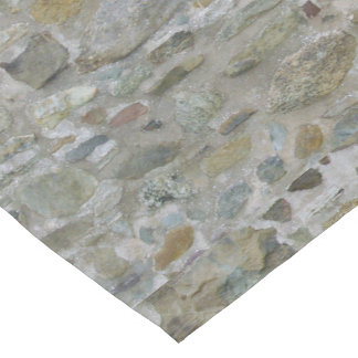 Old Stone Wall Short Table Runner