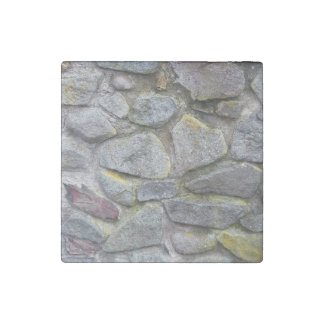 Old stone wall texture stone magnet
