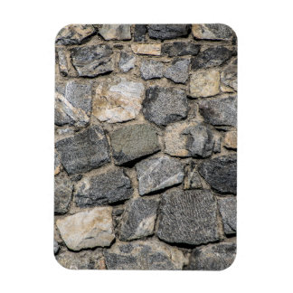 Old stone wall texture magnet