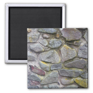 Old stone wall texture fridge magnet