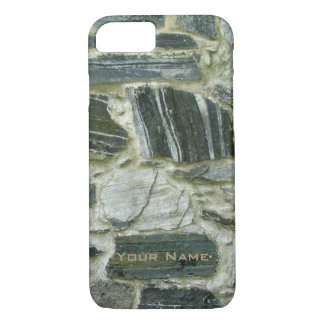Old Stone Wall with Name iPhone 8/7 Case