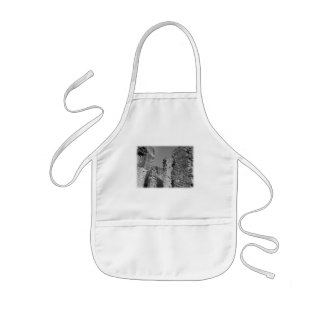Old Stone Walls and Sky. Kids' Apron