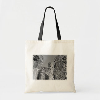 Old Stone Walls and Sky. Tote Bags