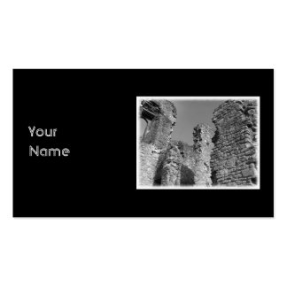 Old Stone Walls and Sky. Business Card