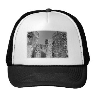Old Stone Walls and Sky. Mesh Hats