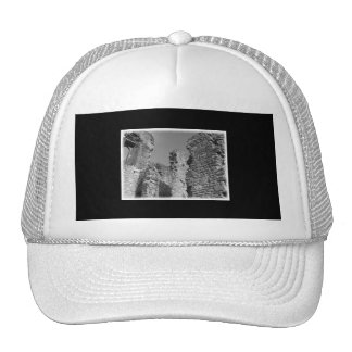Old Stone Walls and Sky. Mesh Hat