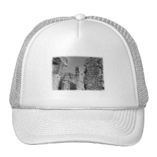 Old Stone Walls and Sky. Hat