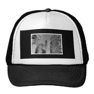 Old Stone Walls and Sky. Trucker Hats