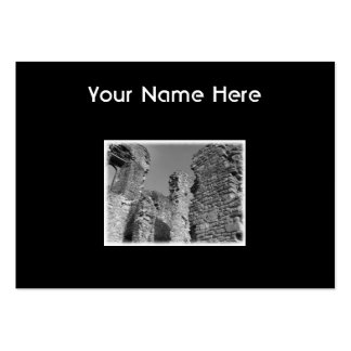 Old Stone Walls and Sky. Large Business Cards (Pack Of 100)
