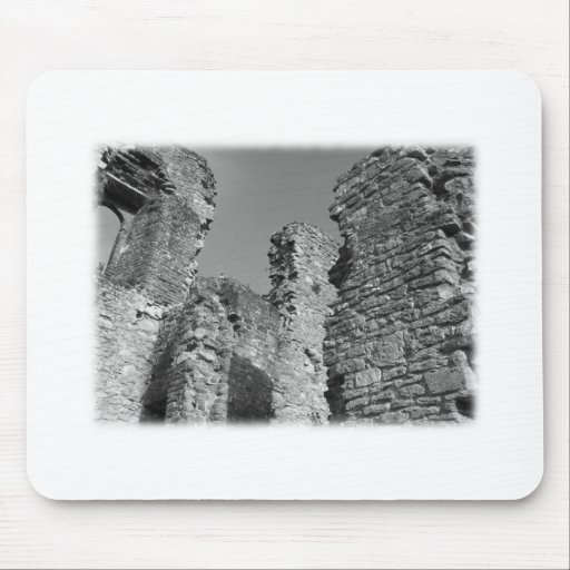 Old Stone Walls and Sky. Mouse Pad