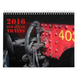 Old Stream Trains - Photography - Calendar 2016