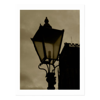 Old Street Lamp Postcard