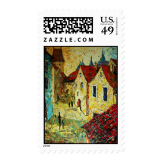 Old street stamps
