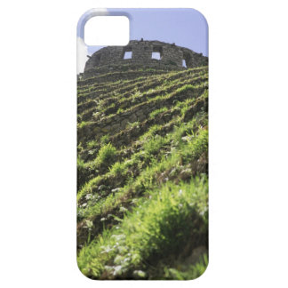Old structure at top of steep hill iPhone 5 covers
