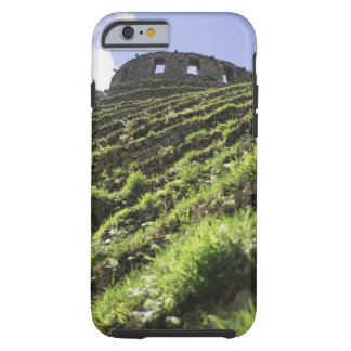 Old structure at top of steep hill tough iPhone 6 case