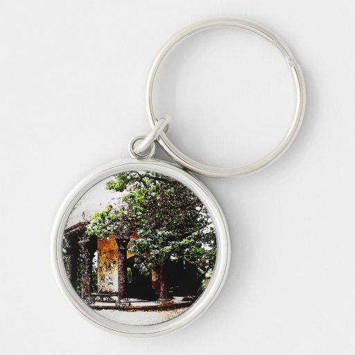 Old Structure in Sintra Portugal Key Chains