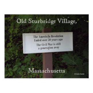 Old Sturbridge Village,Massachusetts Postcard