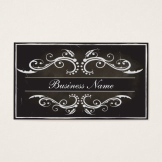 Old style Business Card 2 sides Template
