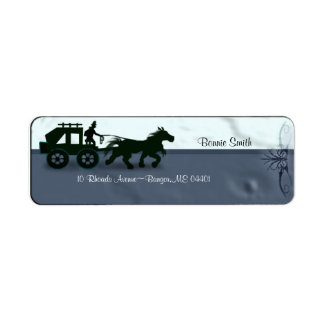 old style carriage label