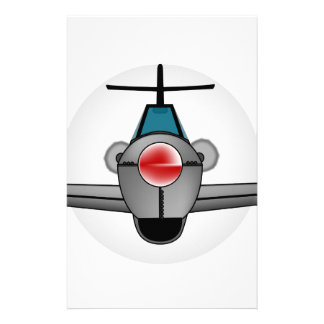 Old Style Fighter Aircraft Stationery