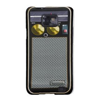 old style handheld radio galaxy SII case