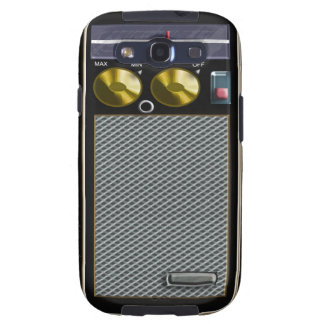 old style handheld radio samsung galaxy s3 case