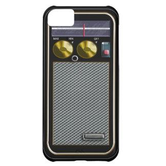 old style handheld radio iPhone 5C cover