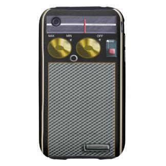 old style handheld radio tough iPhone 3 case