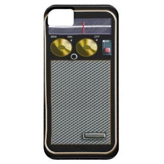 old style handheld radio iPhone 5 case