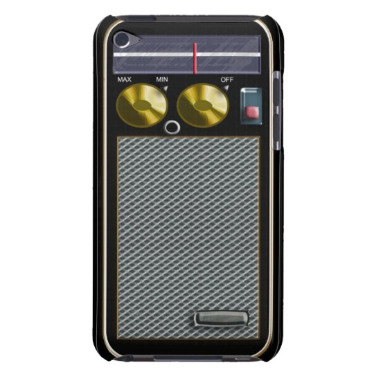 old style handheld radio iPod touch Case-Mate case