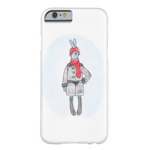 Old-style hare fashion! barely there iPhone 6 case