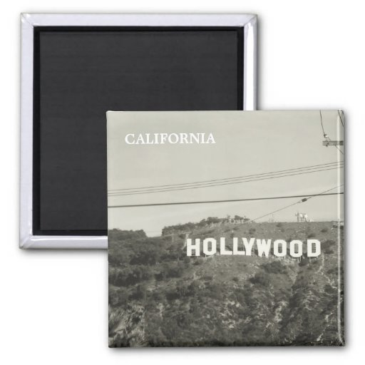 Old Style Hollywood Magnet! 2 Inch Square Magnet