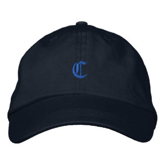 Old Style Letter C Embroidered Baseball Hat