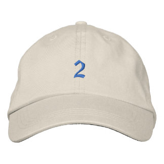 Old Style Number 2 Embroidered Baseball Hat