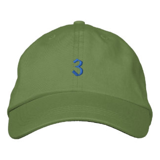 Old Style Number 3 Baseball Cap
