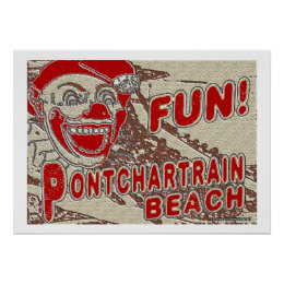 Old Style Pontchartrain Beach Sign