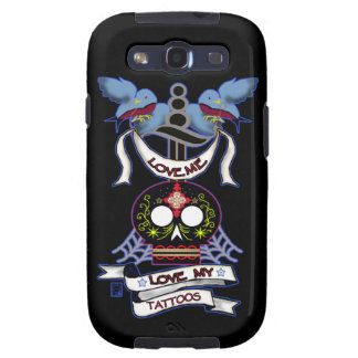 old style tat love(dark version) samsung galaxy s3 cover