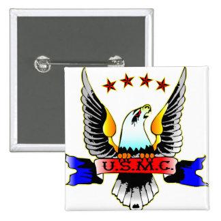 Old Style USMC Pinback Button