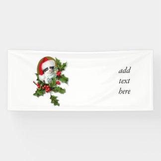 Old Style Vintage Christmas Kitten Banner