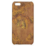 Old-style World Map Parchment-look iPhone 4 Case