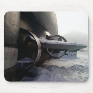 Old Submarine Mouse Pad