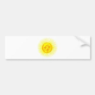 Old Sun Bumper Sticker