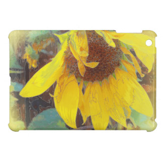 Old Sunflower Bowing Cover For The iPad Mini