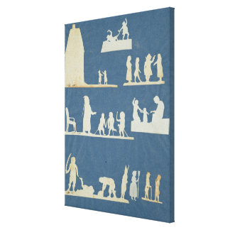 Old Tales Gallery Wrap Canvas