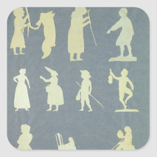 Old Tales Square Stickers