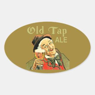 Old Tap Ale Oval Sticker