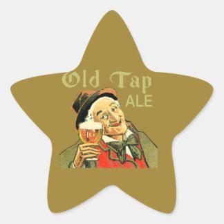 Old Tap Ale Star Sticker